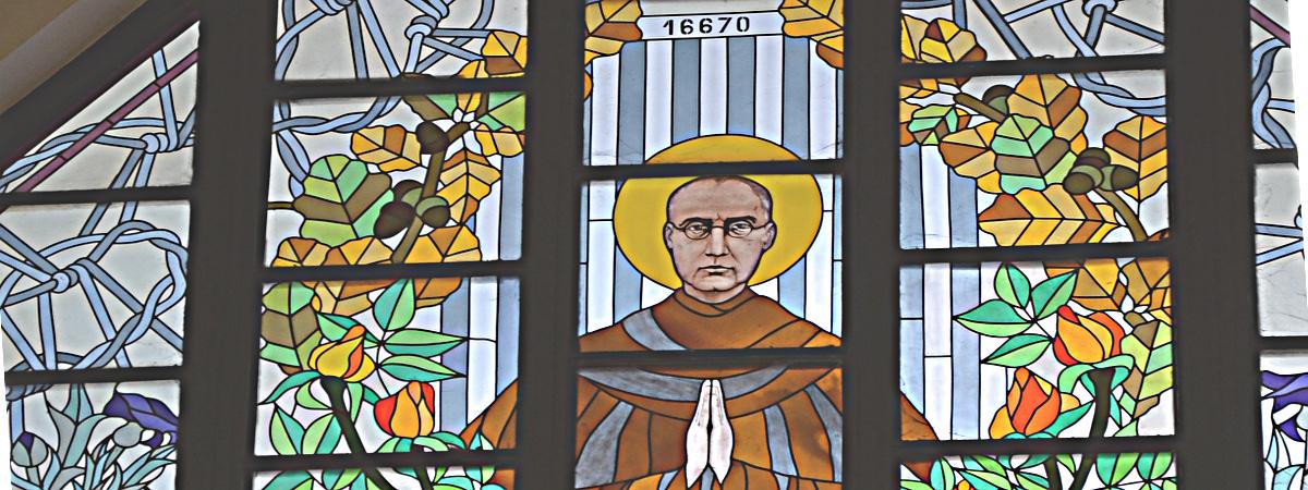 Św. Maksymilian pokazał, jak być miłosiernym.