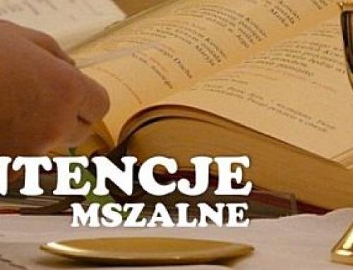Intencje Mszy św. 20.06.2021 – 27.06.2021
